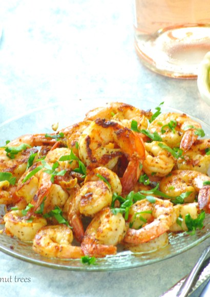 Thumbnail for Garlic Shrimp |Easy stove top recipe with 5 ingredients|