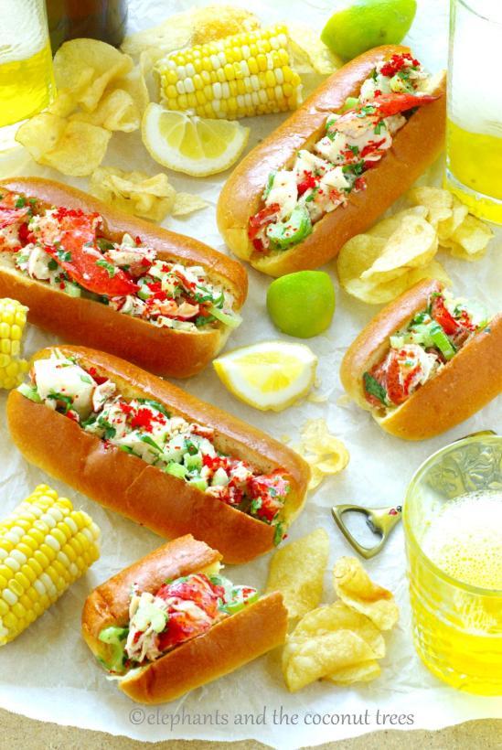 Best homemade Lobster Roll (Video recipe)