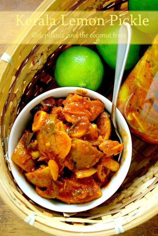 Naranga Achar / Kerala style Lemon Pickle / Lime Pickle / Kerala Sadhya special Cherunaranga Achar. Kerala Sadhya recipes