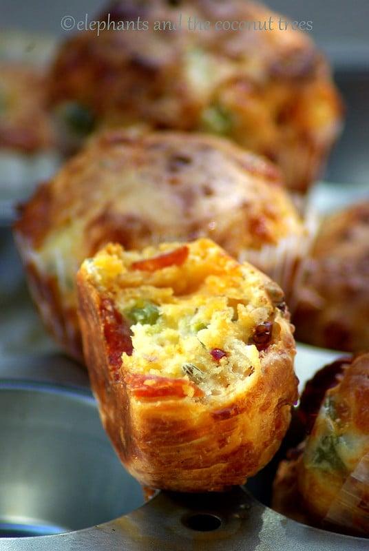 Piza puffs