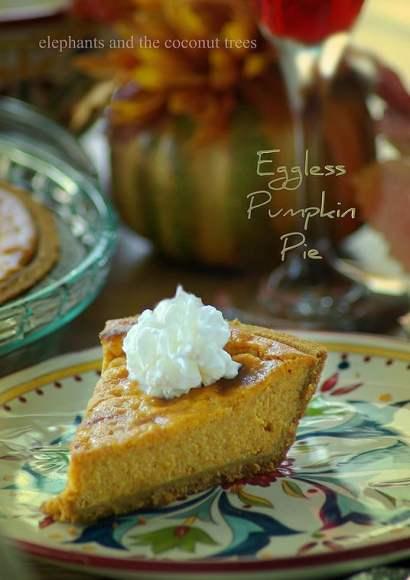 Thumbnail for Eggless Pumpkin Pie
