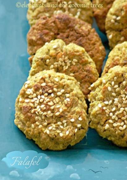 Thumbnail for Baked Falafel and Hummus