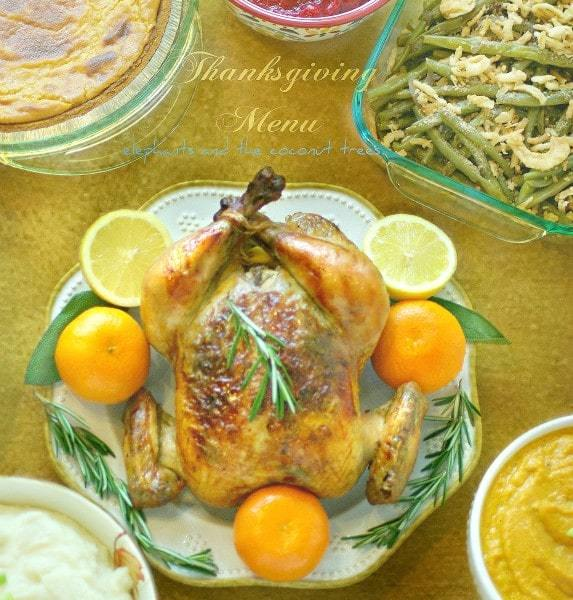 Whole Roasted Chicken with Lemon and Rosemary is one of the most flavorful chicken without too many spices