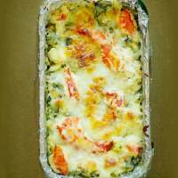 Lobster, Artichoke and Spinach Bake