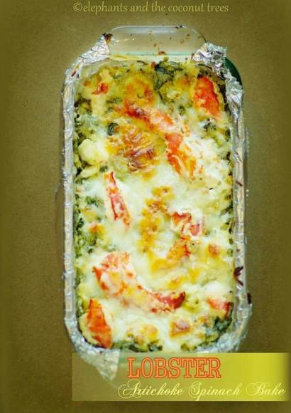 Thumbnail for Lobster, Artichoke and Spinach Bake