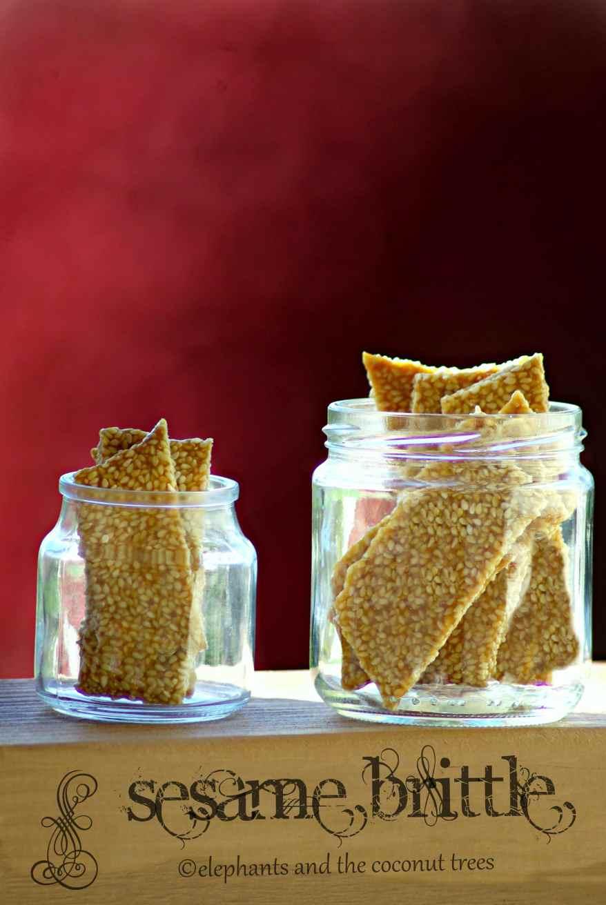 til ki chikki / til patti / sesame brittle,Easy Diwali sweets