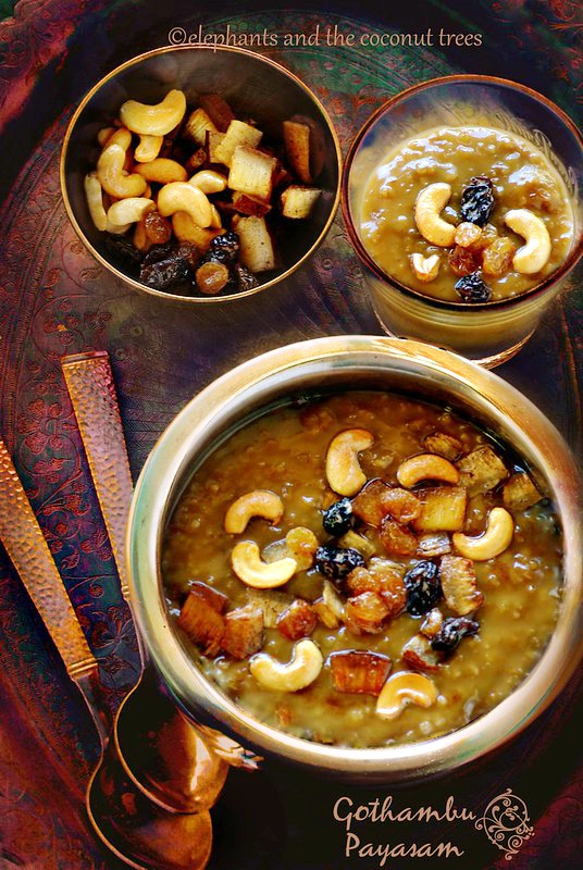 Wheat pudding, gothambu payasam,Indian sweets for all occasions