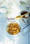candied walnut ideal for snacking in winter