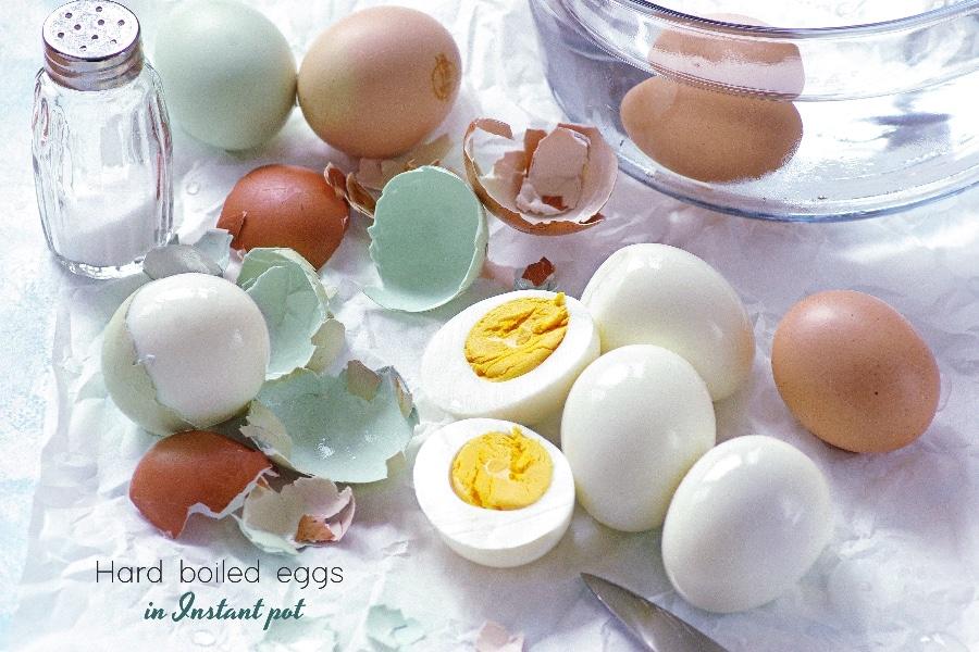 hard boiled eggs in instant pot