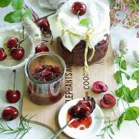 Spiced Cherry Sauce in Instant pot