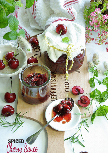 Thumbnail for Spiced Cherry Sauce in Instant pot