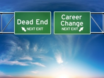 Selecting a career change or dead end exit