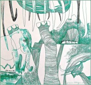 Image: CC Flickr Illustration Elephant Drawing by Biswajit Das Kunst