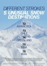Intrepid skiing destinations