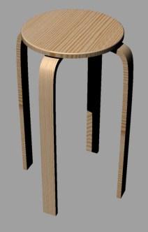 stool-pine