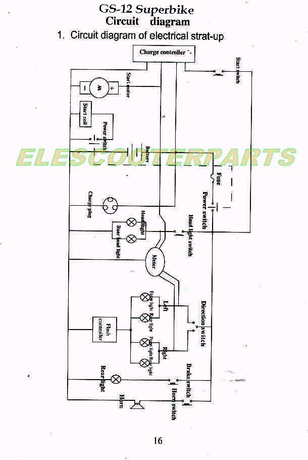 Sunl Mini Chopper Wiring Diagram Longbo Mini Chopper