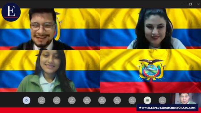 De acuerdo al Memorando Nro. MINEDUC-VGE-2020-00094-M, emitido en Quito, el 20 de septiembre de 2020 por parte del Ministerio de Educación, dispone que como se manejará el acto de la proclamación de abanderados y juramento a la Bandera, dentro de la emergencia sanitaria, según las disposiciones del COE Nacional. Foto: Lic María Espinoza/ Docente Andes College.