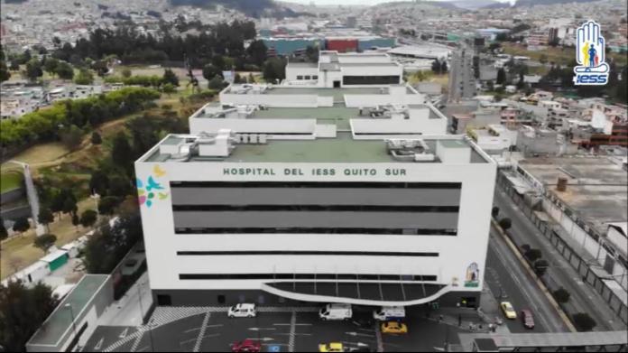 El 83% de los casos de la provincia de Pichincha han sido tratados en el Hospital General del Sur de Quito. Foto: M.Sc. Marco Antonio Bonifaz Valverde MD