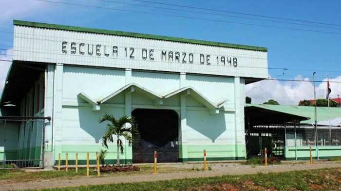 Escuela 12 de marzo de 1948