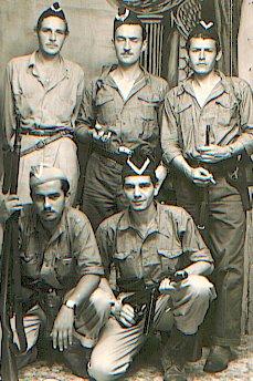 De izq. a der. Arriba: Jorge Arrea, Carlos de la Espriella, Alfonso Jiménez. Abajo: Daniel Calvo y Rodolfo Quirós González