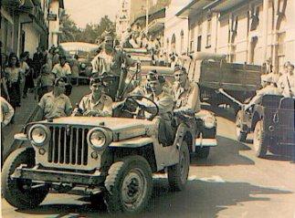 Desfile de la Victoria, conductor: Victor Alberto Quirós Sasso