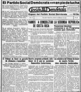 Periódico Acción Demócrata