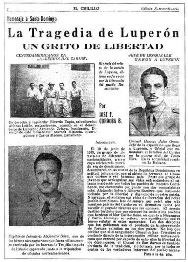 Cayo Confite y Luperón