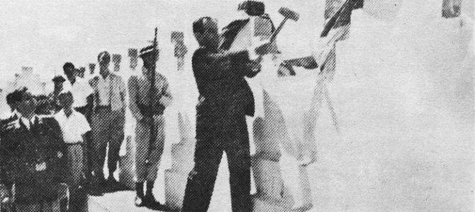 Discurso Edgar Cardona en el acto de Abolición del Ejército