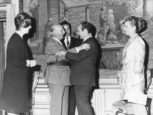 Don Pepe y Francisco Franco.