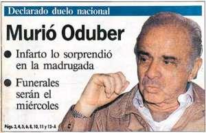 LT Daniel Oduber