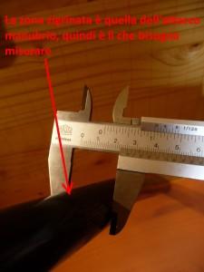 1197 Misurazione diametro attacco manubrio