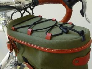 1885 Zimbale front rack bag 28