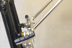 5653 Montiamo la bici parafanghi portapacchi Surly Cross Check 165