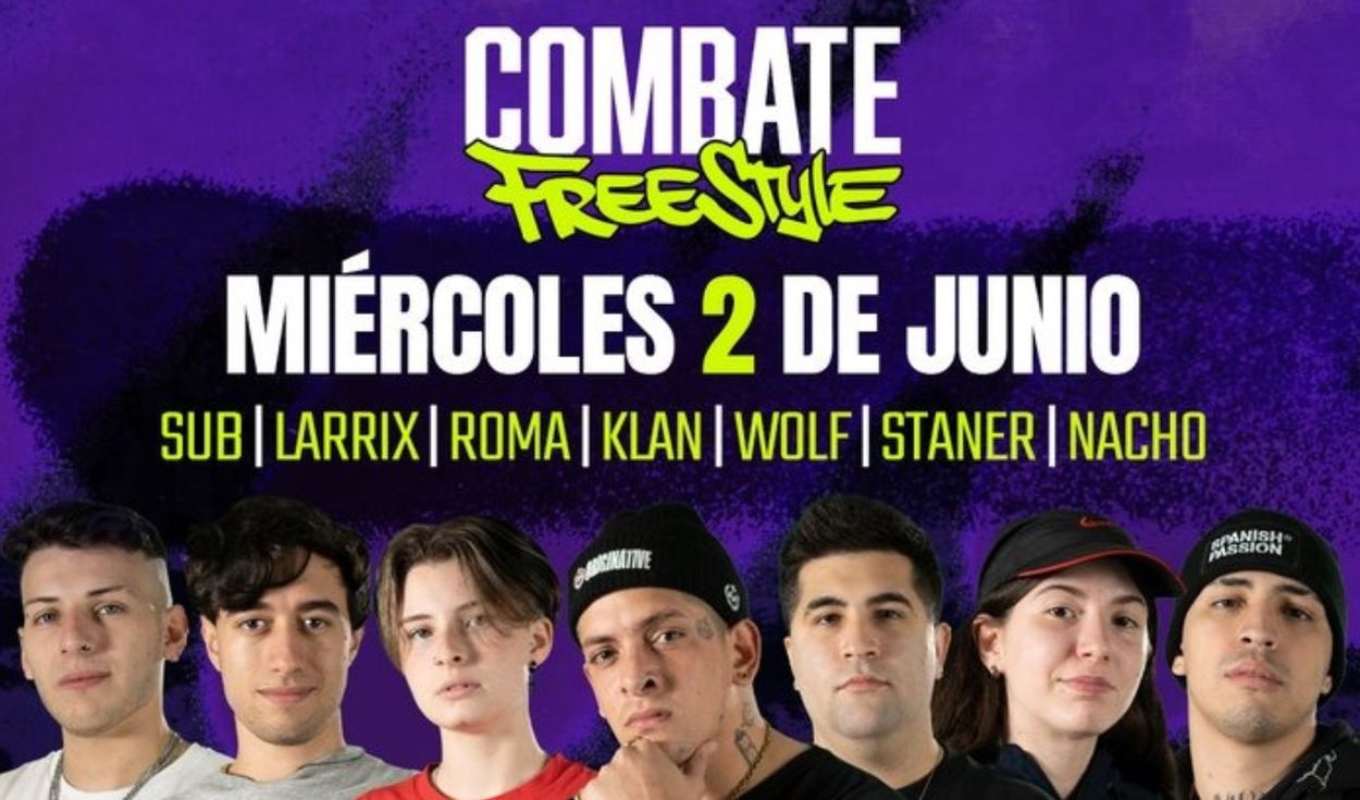 PREVIA COMBATE FREESTYLE FECHA 2