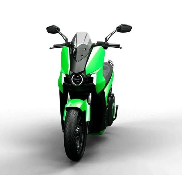 moto eléctrica silence S01 verde