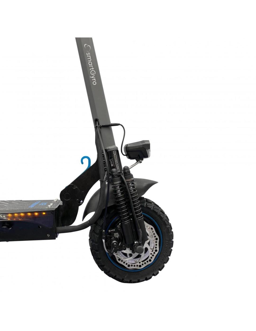 patinete electrico Smartgyro Crossover amortiguadores delanteros