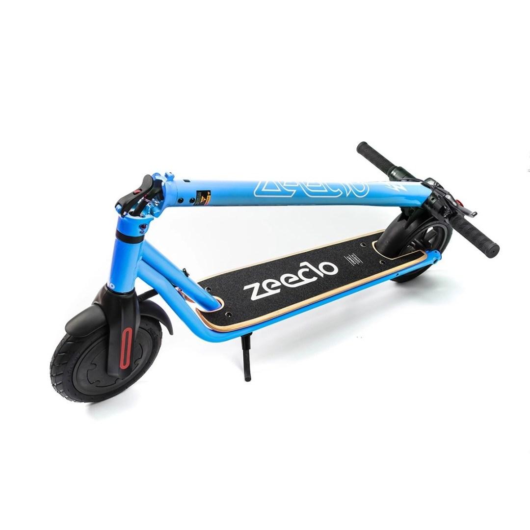 patinete Zeeclo Comet azul 3