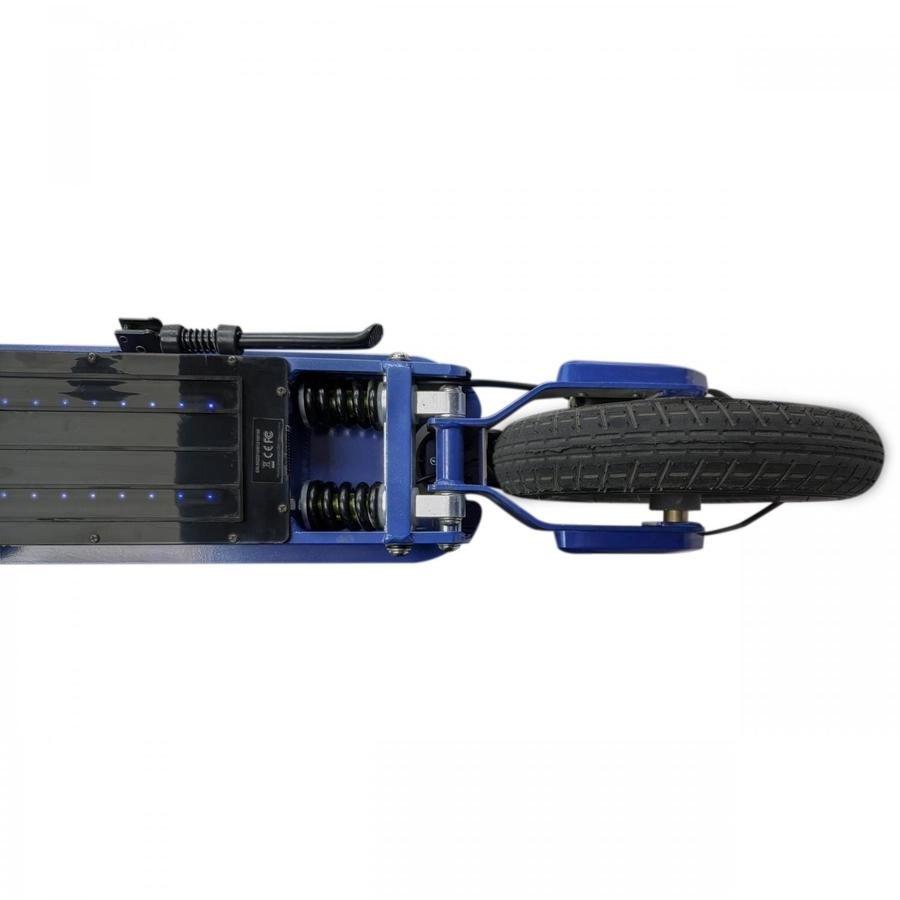 Patinete Electrico SmartGyro Ziro amortiguador delantero