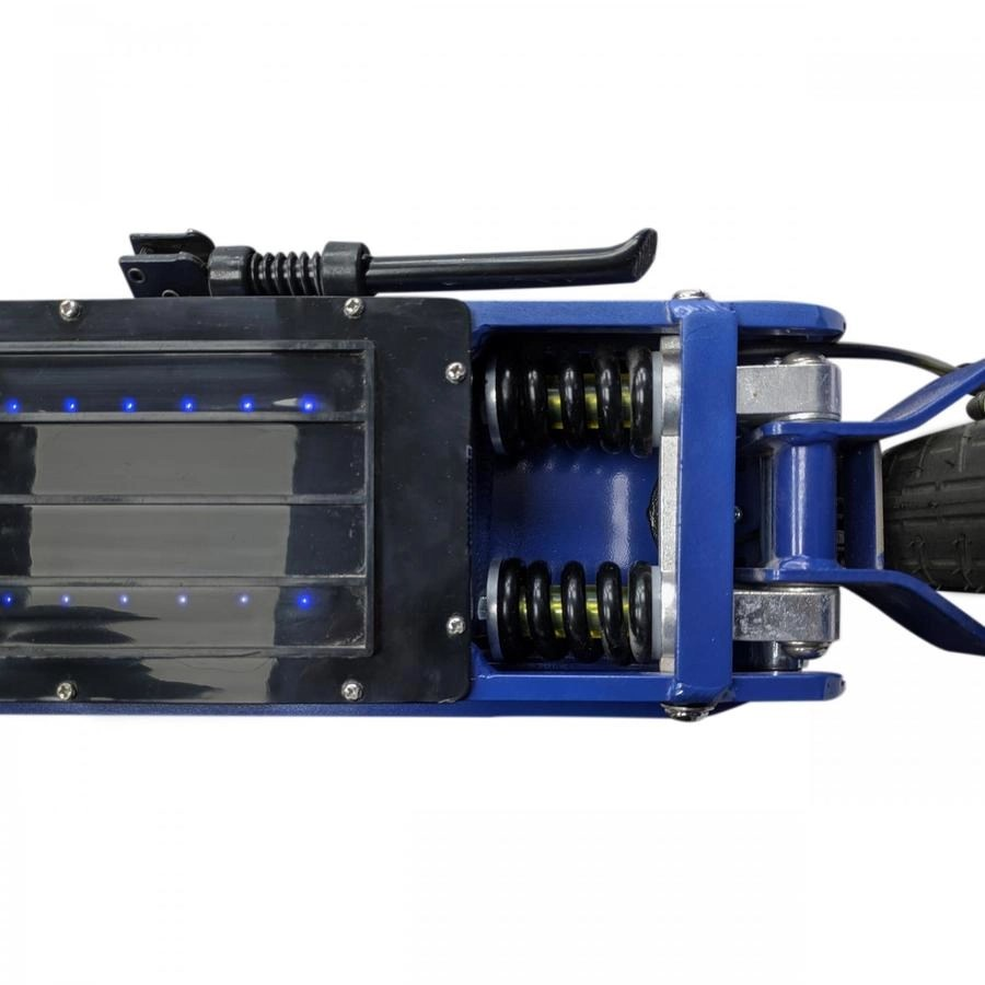 Patinete Electrico SmartGyro Ziro amortiguadores-traseros