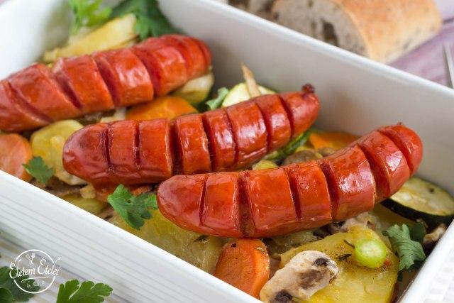 Kolbász zöldségek (2)