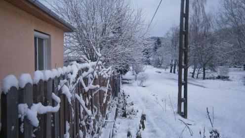 Utcakép télen