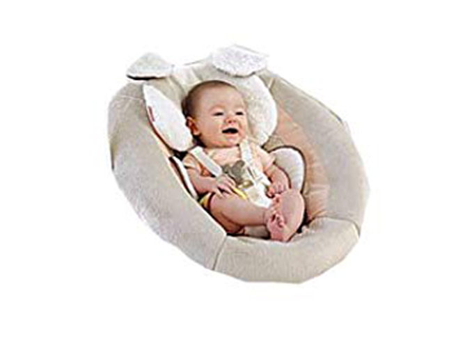 Fisher Price Infant Cradle N Swing My Little Snug A Puppy Replacement Pad Brown White Soft Dog X7345