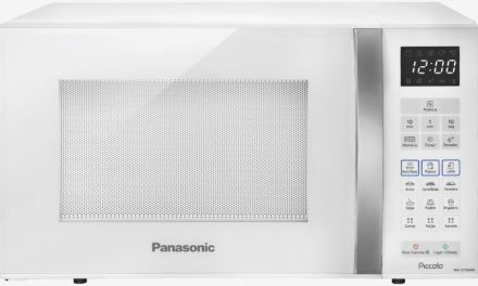 Medidas do Microondas Panasonic 25 litros Branco – NN-ST35HW