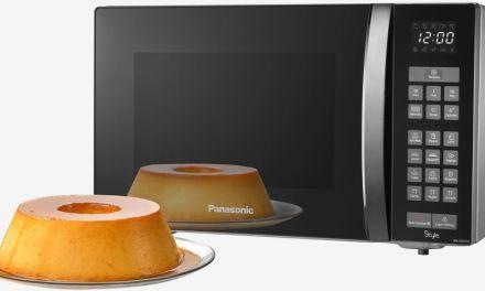 Como descongelar alimentos com microondas Panasonic 32L NN-ST67H