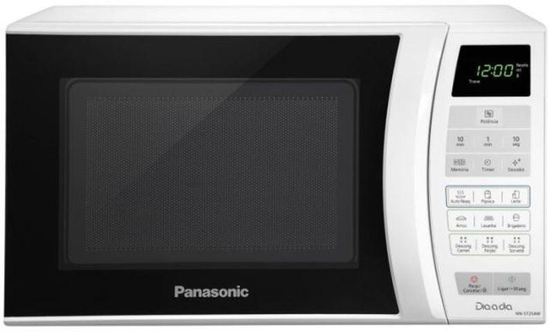 Como ajustar o relógio do micro-ondas Panasonic - ST254