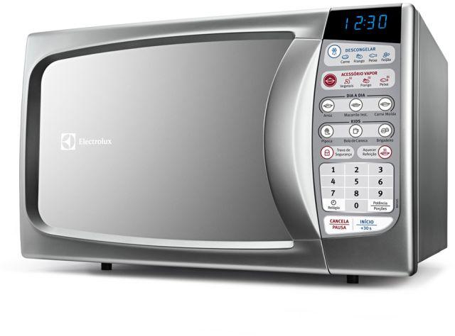 Medidas do Microondas Electrolux 20 litros acessório vapor - MA30S