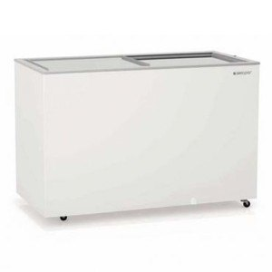 Freezer Gelopar GHDE-410 Horizontal Branco