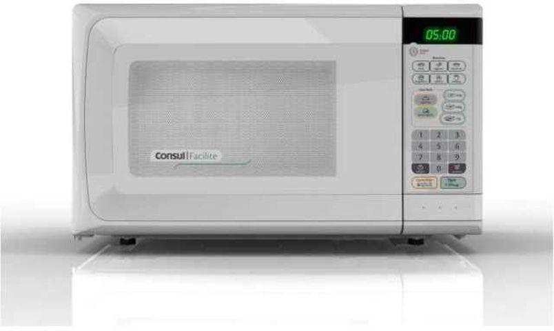 Medidas do Microondas Consul 20 litros Branco - CMS26