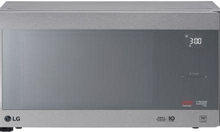 Como ajustar o relógio do Microondas LG 42L Smart Inverter MH8297CIR