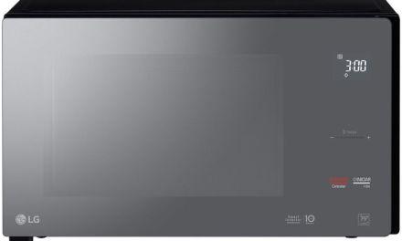 Como ajustar o relógio do Microondas LG 42L Smart Inverter MS4297DIR